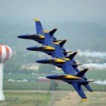 Blue Angels Flying over South Baltimore in June