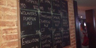 Beer Blog: Pumpkin Fest 1 at No Idea Tavern