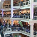 Video:  Purple Friday Playoff Rally at the Gallery