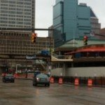 Light Street Closure This Weekend For Removal of Pedestrian Bridge