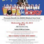 The Torrey Smith Bowl for BARCS on Wednesday, May 29th