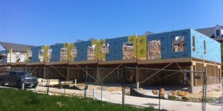 New Townhome Construction Returns to Camden Crossing
