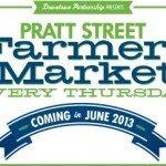 Pratt Street Farmers Market Coming in June