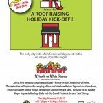 Miracle on Main Streets Kick-off Event in Pigtown on 11/21