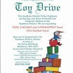 The Southern District Police Explorers Launch Toy Drive