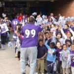 Feature Video: The Ravens Visit Federal Hill Prep