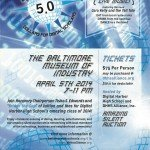Digi Ball 5.0 on April 5th at the Baltimore Museum of Industry