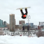 Video: Federal Hill Snowboarding Session