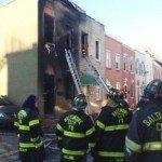 Damaging Fire on Cooksie Street in Locust Point