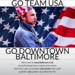 Downtown Partnership Hosting USA/Germany Viewing Party at Delia Foley's