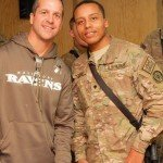 Army National Guard Member Joey Odoms Named Ravens National Anthem Singer