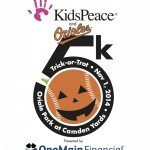 KidsPeace Trick-or-Trot 5k on November 1st at Camden Yards