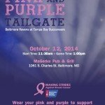 The Pink and Purple Tailgate on October 12th