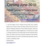 Farmers Market Coming to Pigtown This June