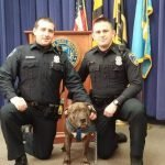 Notable Police Officer and Dog Reunited in Federal Hill