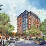 Eight-Story Office Building Proposed for Ostend St. in Stadium Square