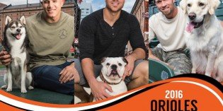Annual Orioles Pet Calendar Benefitting BARCS Debuts on August 22nd with Signing Event