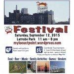 Locust Point Festival on Saturday, September 12th