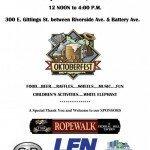 Catholic Community of South Baltimore Oktoberfest This Saturday, September 26th
