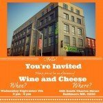 Wine and Cheese Realtor Open House Today at 1201 South Charles