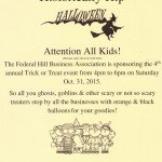 Historically Hip Halloween Trick or Treat Event This Saturday in Federal Hill