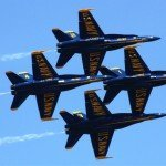 Blue Angels and Thunderbirds to Fly Over Baltimore This Saturday at 1130am