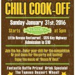 The Federal Hill South Chili Cook-Off on January 31st