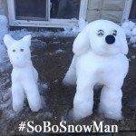 The #SoBoSnowMan Contest Gallery