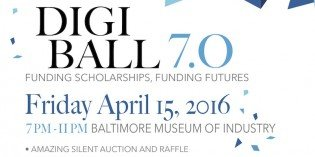 Digiball for Digital Harbor Scholarships on April 15th at BMI