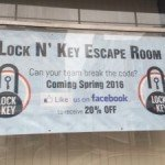 Lock N' Key Escape Room Coming to Federal Hill
