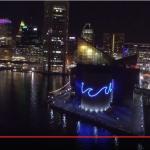 South Baltimore Company Produces Light City Baltimore Drone Video