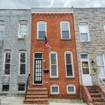 Tuesdays Under 250: Two-Bedroom Rowhome with Exposed Brick in South Baltimore