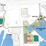 Soil Work Begins at Port Covington, Bike Path Coming Soon