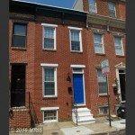 Tuesdays Under 250: Rowhome with Exposed Brick and Hardwood Floors on Patapsco Street