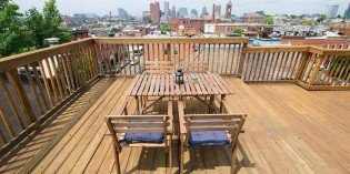 Mid-Week Five: South Baltimore Listings with Rooftop Decks