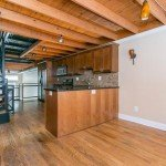 Tuesdays Under 250: Pigtown Rowhome Featuring Catwalks, Exposed Beams, and Decorative Concrete