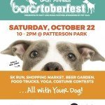 12th Annual BARCStoberfest and 5k on October 22nd