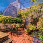 Mid-Week Five: South Baltimore Homes with Landscaped Patios