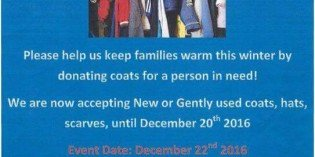 Baltimore Police Southern District Collecting Winter Coats