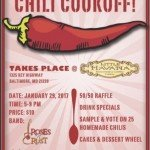 Federal Hill South Chili Cookoff on January 29th at Little Havana
