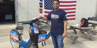 Meeting the Team of Veterans Running Baltimore BikeShare