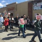 Rally Held in Support of the Cross Street Market Redevelopment