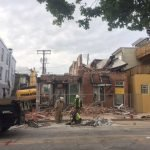 Emergency Demolition of Two Fort Avenue Buildings in Federal Hill