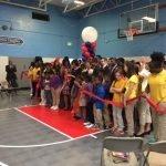 1,500+ Under Armour Volunteers Help Update School in Hollins Market
