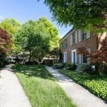 "Mid-Week Listing: ""Tucked-Away"" Otterbein Townhome with a Two-Car Garage"