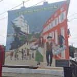 New Hollins Market Mural Honors the Neighborhood's Irish History