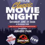 Jurassic Park Movie Night This Saturday at Riverside Park