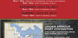 Under Armour Sample Sale Next Weekend at the Former Port Covington Walmart
