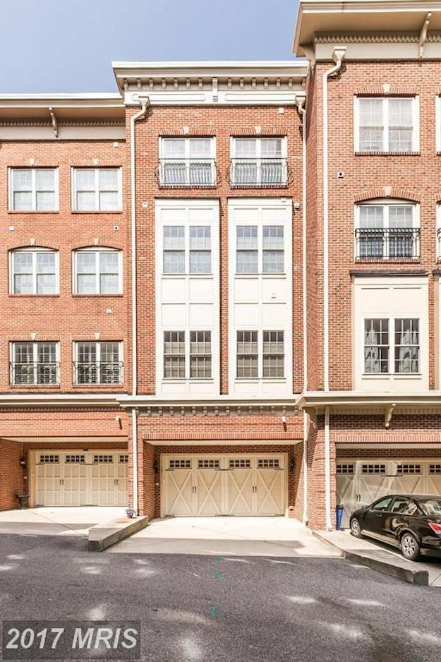 Robin godwin million dollar monday federal hill townhome for Elevator townhomes
