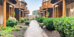 Rental Spotlight: Federal Hill Townhome on Private Courtyard with Four-Car Parking